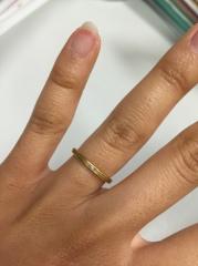 【mina.jewelry(ミナジュエリー)の口コミ】 フェイスブックの広告でたまたま見つけ、ホームページでも色々デザインを見…