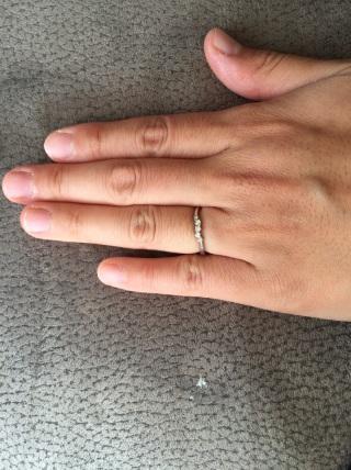 【輪-RIN-の口コミ】 私の手はズングリムックリなので、すこしでも綺麗に見えるように細くて華奢…