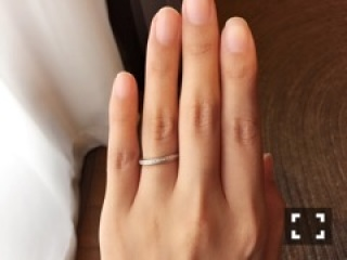 【ヴァンドーム青山(Vendome Aoyama)の口コミ】 結婚指輪は年齢を重ねてもつけられるもので、普段の家事にも支障のないデザ…