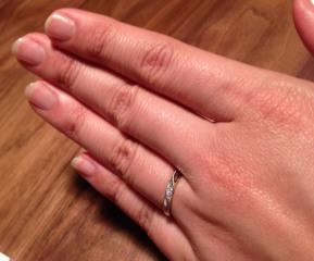 【ギンザタナカブライダル(GINZA TANAKA BRIDAL)の口コミ】 女性向けの指輪はダイヤが多くてキラキラしているものが多いのですが、この…