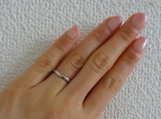 【カルティエ(Cartier)の口コミ】 本当は別のブランドのものがよかったのですが婚約指輪はわがままを言ってテ…