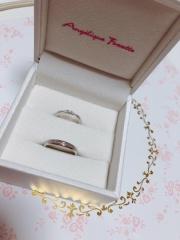 【アンジェリックフォセッテ(Angelique Fossette)の口コミ】 ワンポイントのある指輪が欲しくて購入しました。予算がそんなになかった…