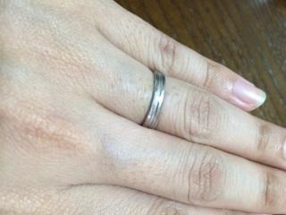 【エルメス(HERMES)の口コミ】 もともとHERMESが大好きだったので、結婚指輪は絶対にエルメスと決めてい…