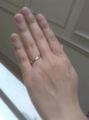 【SAKAI & CO.の口コミ】 彼にもらったエンゲージリングにピンクダイヤが付いていたので、マリッジ…