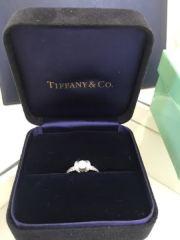 【ティファニー(Tiffany & Co.)の口コミ】 幼いころからTiffanyに憧れがあり、婚約指輪は絶対にここの指輪がい…