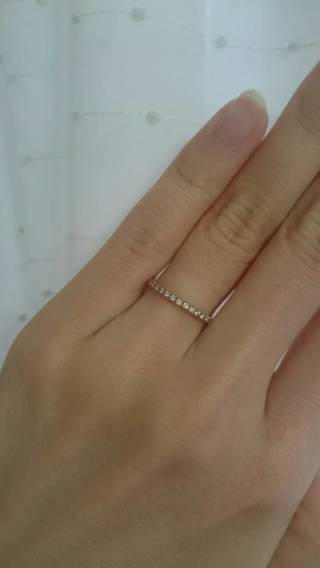 【スタージュエリー(STAR JEWELRY)の口コミ】 立て爪の1粒ダイヤの婚約指輪は、着用機会も限られ、箪笥の肥やしになる…