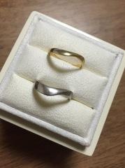【LUCIE(ルシエ)の口コミ】 プロポーズの際に彼に購入してもらった婚約指輪に合う指輪を同じブランド…