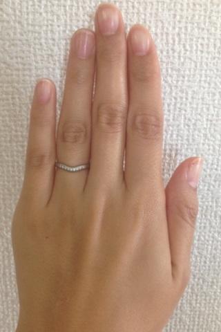 【ティファニー(Tiffany & Co.)の口コミ】 店頭て見たときはあまり好みではないと思っていました。主人がこの指輪を気…