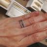【ANTWERP BRILLIANT(アントワープブリリアント)の口コミ】 華やかな印象のあるセットリングでありダイヤモンドの輝きがしっかりとし…