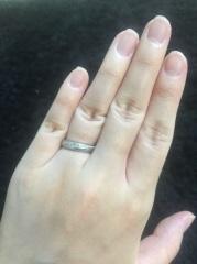 【Ponte Vecchio(ポンテヴェキオ)の口コミ】 いちばんの決め手は婚約指輪も同ブランドだったということです。セットで…