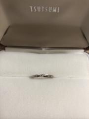 【ジュエリーツツミ(JEWELRY TSUTSUMI)の口コミ】 元々14Gの結婚指輪を持っていたのですが金属アレルギーが出てしまいプラチ…