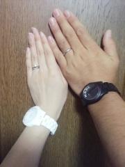 【アイプリモ(I-PRIMO)の口コミ】 婚約指輪に関しては旦那さんに選んでもらいました。また結婚指輪に関しては…
