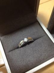 【ショーメ(CHAUMET)の口コミ】 様々なブランドで実際に指輪を付けてみましたが、CHAUMETの指輪が…