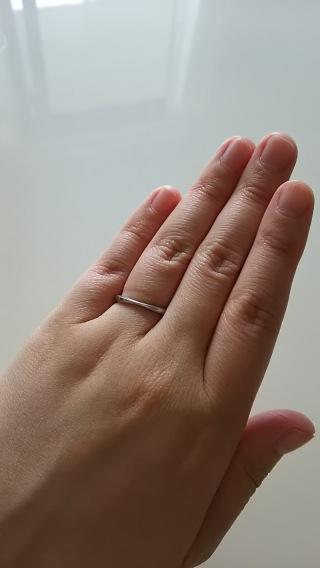 【agete(アガット)の口コミ】 細身の結婚指輪を相手も私も探していました。大手の婚約、結婚指輪で有名…