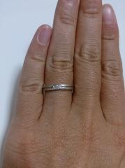 【アイプリモ(I-PRIMO)の口コミ】 この指輪を結婚指輪として買った決め手は、デザインが好みに合っていたこ…