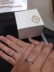 【&tiqueの口コミ】 今年1月にサプライズプロポーズをした時に、CHER LUV(シェールラ…