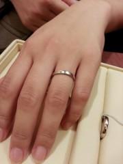 【ギンザタナカブライダル(GINZA TANAKA BRIDAL)の口コミ】 結婚にさしあたって出費もかさんだので、結婚指輪はなるべく「シンプルな…