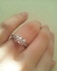【ティファニー(Tiffany & Co.)の口コミ】 ハートがすごくかわいかったです。他の指輪とは圧倒的にデザインが違いま…