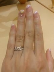 【Mariage(マリアージュ)の口コミ】 個性的なデザインの指輪が良かったのでこの指輪にしました。 そこから自分…