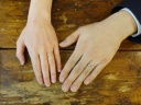 【Lovignette(ラヴィネット)の口コミ】 結婚式を挙げる式場さんからのオススメでした。 日々身に付けることで、指…