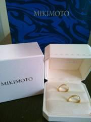 【MIKIMOTO(ミキモト)の口コミ】 デキ婚だったため結婚指輪を買うタイミングをずっと逃していて、付き合っ…