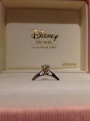 【ケイウノ ブライダル(K.UNO BRIDAL)の口コミ】 ディズニーモチーフで指輪を探している時に、友達にK.UNOを教えてもらった…