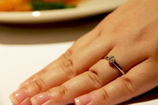 【Galopine & Galopin(ガロピーネガロパン)の口コミ】 指輪の意味に惹かれました。 二人は永遠に続くという意味なのですが絆とい…