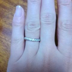 【銀座ダイヤモンドシライシの口コミ】 色んなジュエリーショップに何度も見学に行きました。 基本の形はどこのシ…
