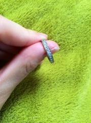 【ラザール ダイヤモンド(LAZARE DIAMOND)の口コミ】 指輪の購入の決めてはデザインでした。 もともと指輪は身に付ける習慣がな…