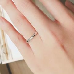 【infinitylove(インフィニティラヴ)の口コミ】 予算の範囲内でデザイン性の高い指輪を探しており、この指輪はイメージに…