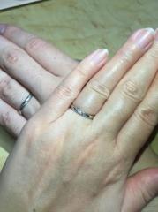 【A・D・A(エー・ディー・エー)の口コミ】 婚約指輪をこちらのお店で購入しており、重ねてつけるのに合う物が良かっ…