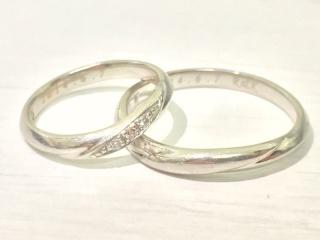 【アイプリモ(I-PRIMO)の口コミ】 結婚指輪は毎日つけたかったので、飽きがこないデザインが良いと思っていま…