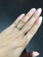 【ジュエリークラフトYAMAJIの口コミ】 オーダーメイドで指輪を作ってもらいました。婚約指輪と一緒につけられる…