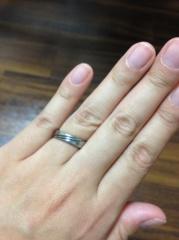 【島田工房(しまだこうぼう)の口コミ】 夫が、普通のリングではなくて、変わった指輪がいいとのことで、素材にこだ…