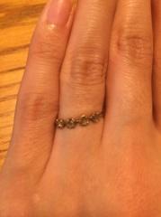 【noguchi(ノグチ)の口コミ】 ここぞというときのオシャレな指輪、ではなく普段使いできるデザインが希望…