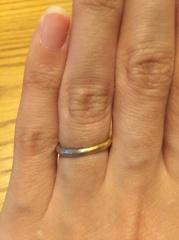 【MALCOLM BETTS(マルコムベッツ)の口コミ】 デザイン性の高い指輪を探していました。わたしも主人もカジュアルな服装…