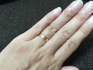 【カルティエ(Cartier)の口コミ】 結婚前からこれと決めていました。 ブランド力ももちろんですが、やはり決…