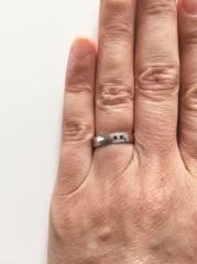 【エルメス(HERMES)の口コミ】 最初は違うブランドのものを結婚指輪に購入したいと以前から 思っていたの…