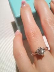 【ティファニー(Tiffany & Co.)の口コミ】 最初は別の指輪にしようかと思っていたのですが一度はめてしまうとフィット…