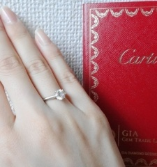 【カルティエ(Cartier)の口コミ】 最初はそこまで必要ないと思っていたのですがおおよそ1年前ぐらいからさり…