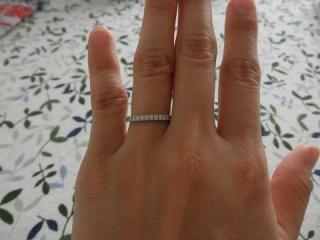 【ティファニー(Tiffany & Co.)の口コミ】 結婚指輪といえば日常的にもそうなのですが 冠婚葬祭と身に着ける機会がた…