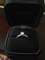 【ティファニー(Tiffany & Co.)の口コミ】 昔からTiffany & Co. が好きで憧れていたので、一生ものの指輪も絶対…