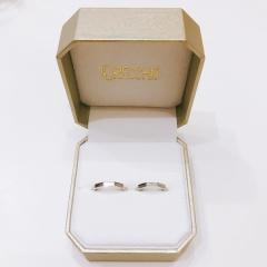 【ORECCHIO(オレッキオ)の口コミ】 このデザインが他のブランドにはなく、結婚が決まる前から、もし結婚した…