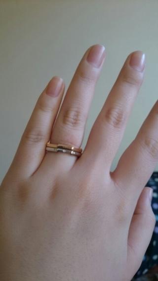 【グッチ(GUCCI)の口コミ】 まず日本限定というのに惹かれました。 他の指輪とは違い少しかくかくして…