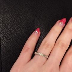 【ハリー・ウィンストン(Harry Winston)の口コミ】 元々は結婚指輪として有名な指輪なのですが私がどうしてもこれがいいといっ…