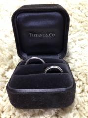 【ティファニー(Tiffany & Co.)の口コミ】 私は、結婚指輪は男性と女性が全く一緒のデザインが希望でした。  男性が…