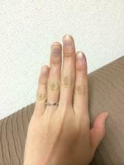 【ティファニー(Tiffany & Co.)の口コミ】 条件通りの指輪なので満足です。元々の条件が婚約指輪と重ね付けをしたか…