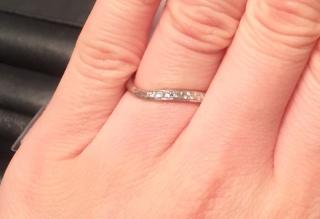 【エクセルコダイヤモンド(EXELCO DIAMOND)の口コミ】 最終の、決め手はスタッフさんです。そもそも他の店舗の指輪を購入するか迷…