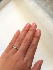 【ティファニー(Tiffany & Co.)の口コミ】 結婚指輪を買うならば、元々ティファニーがいい!!と決めていたので、ティ…