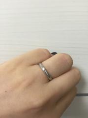 【グッチ(GUCCI)の口コミ】 雑誌でGUCCIの指輪が気になり、最初は18Kが欲しかったがサイズがなく、プ…